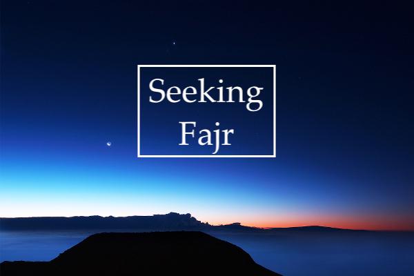 Seeking Fajr poster