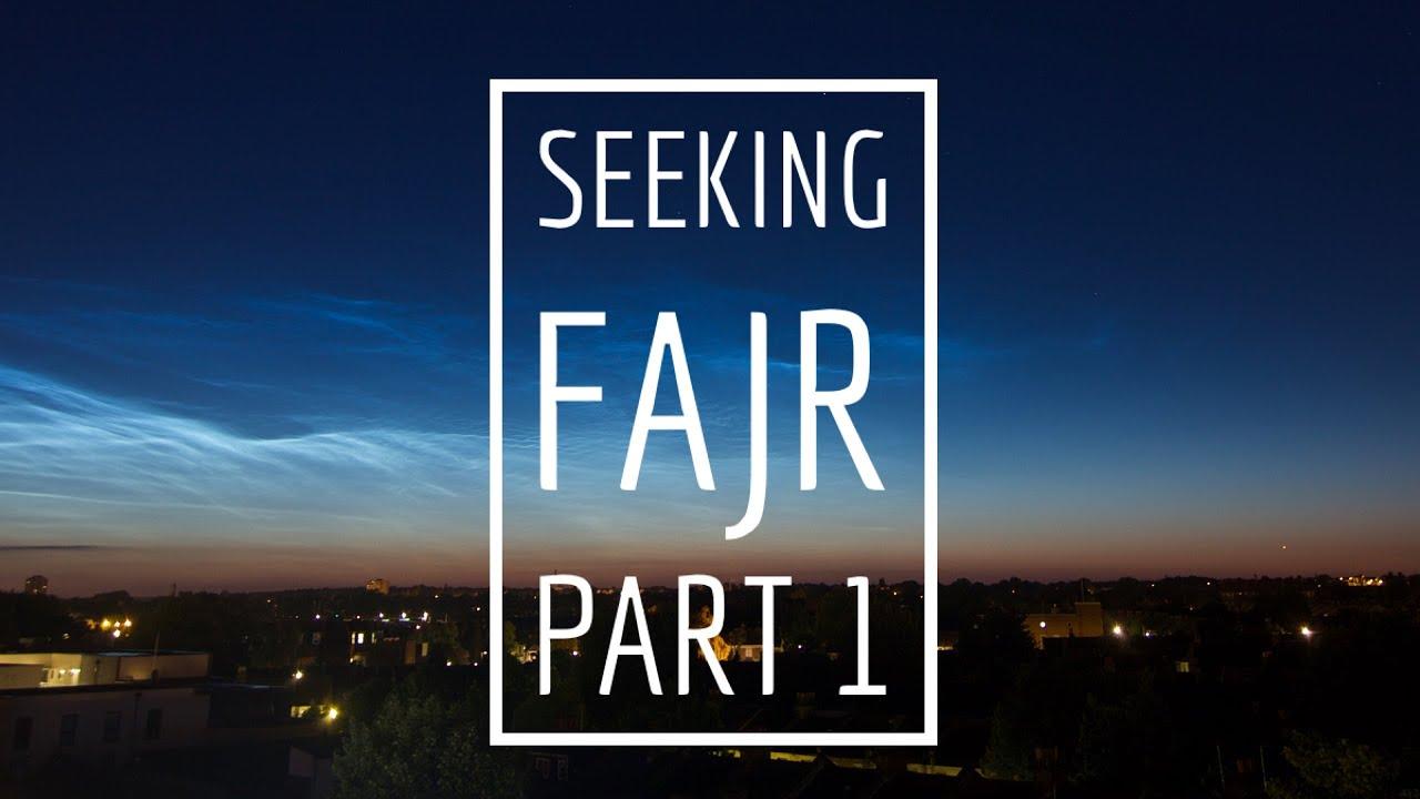 Seeking Fajr part 1 poster