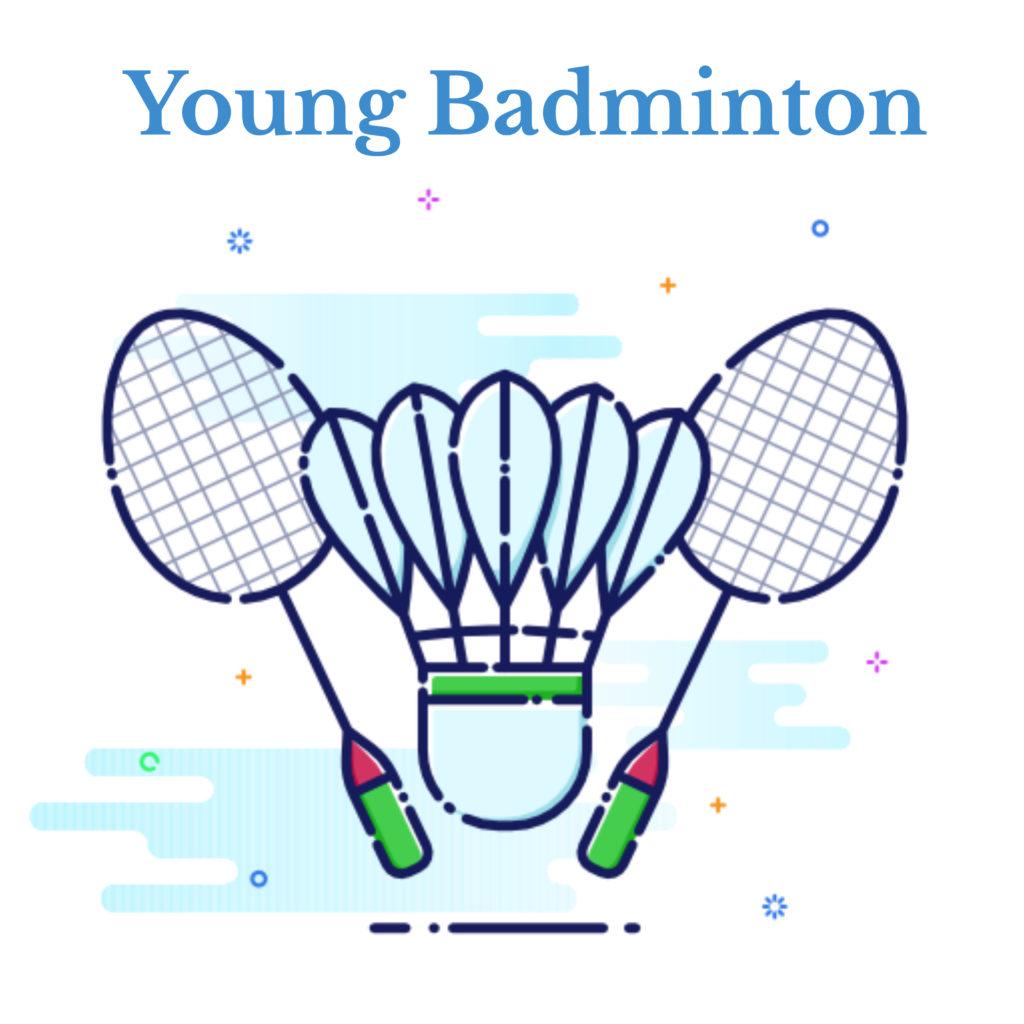 young badminton