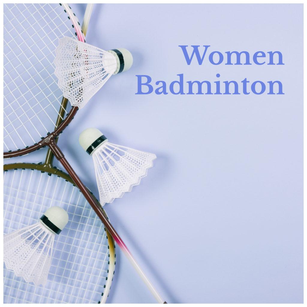 Women Badminton